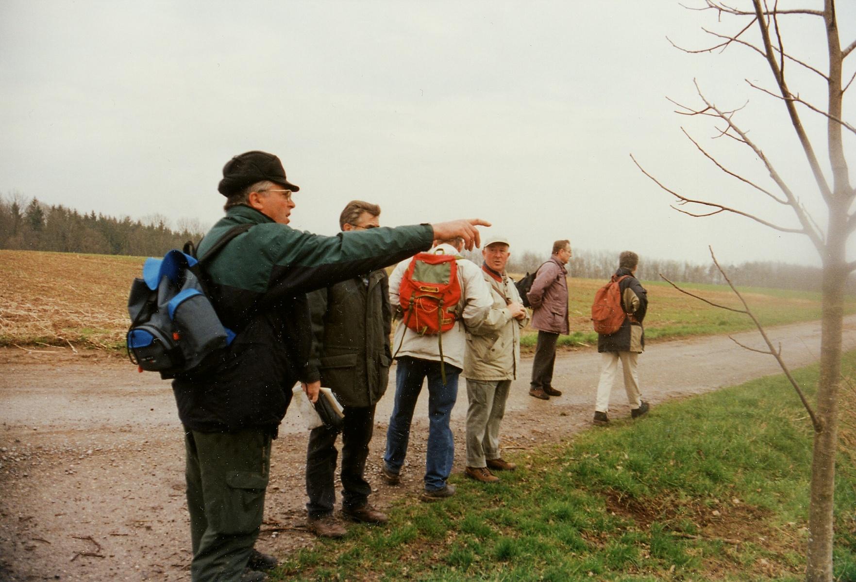 2001_03_28 Strombergwanderung, An der Ehmetsklinge