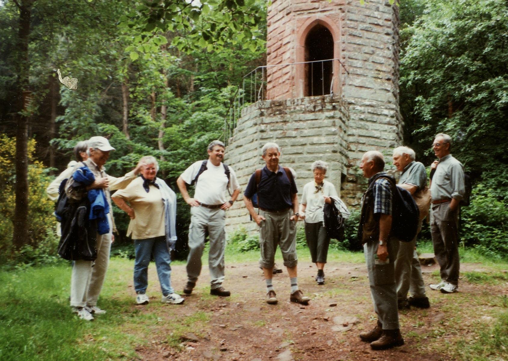 2002_06_05 Modenbachtal, Am Schänzelturm