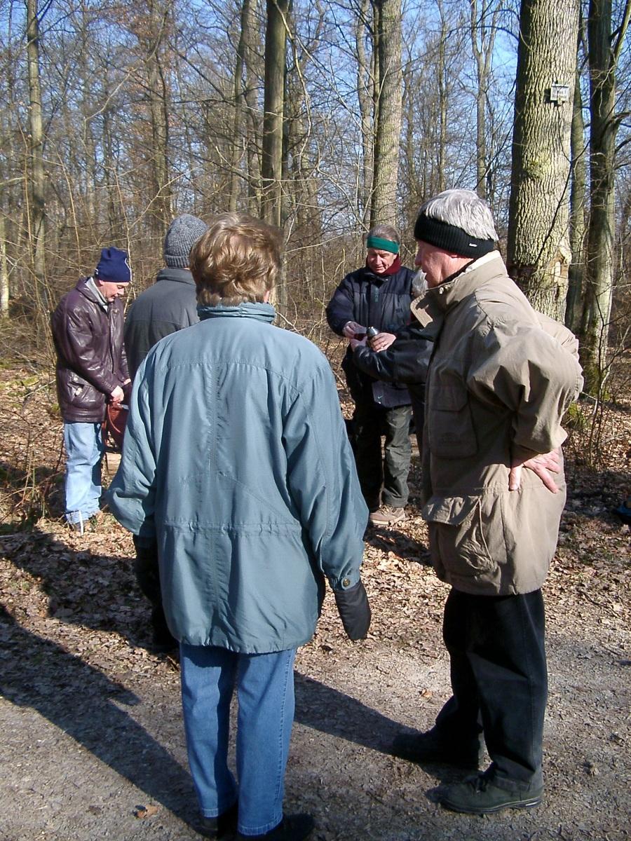 2003_03_03 Enzberg, Wanderung nach Ötisheim