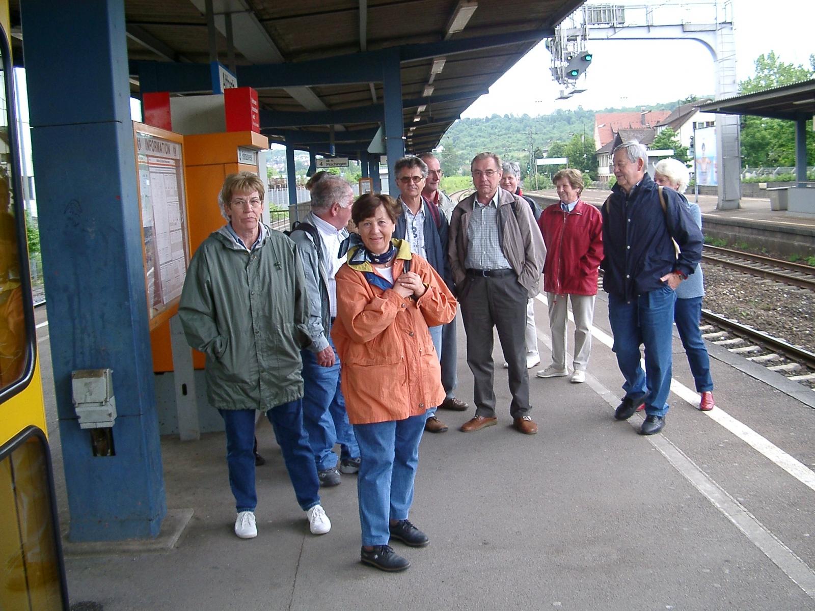 2003_05_03 Altbach, Bahnhof