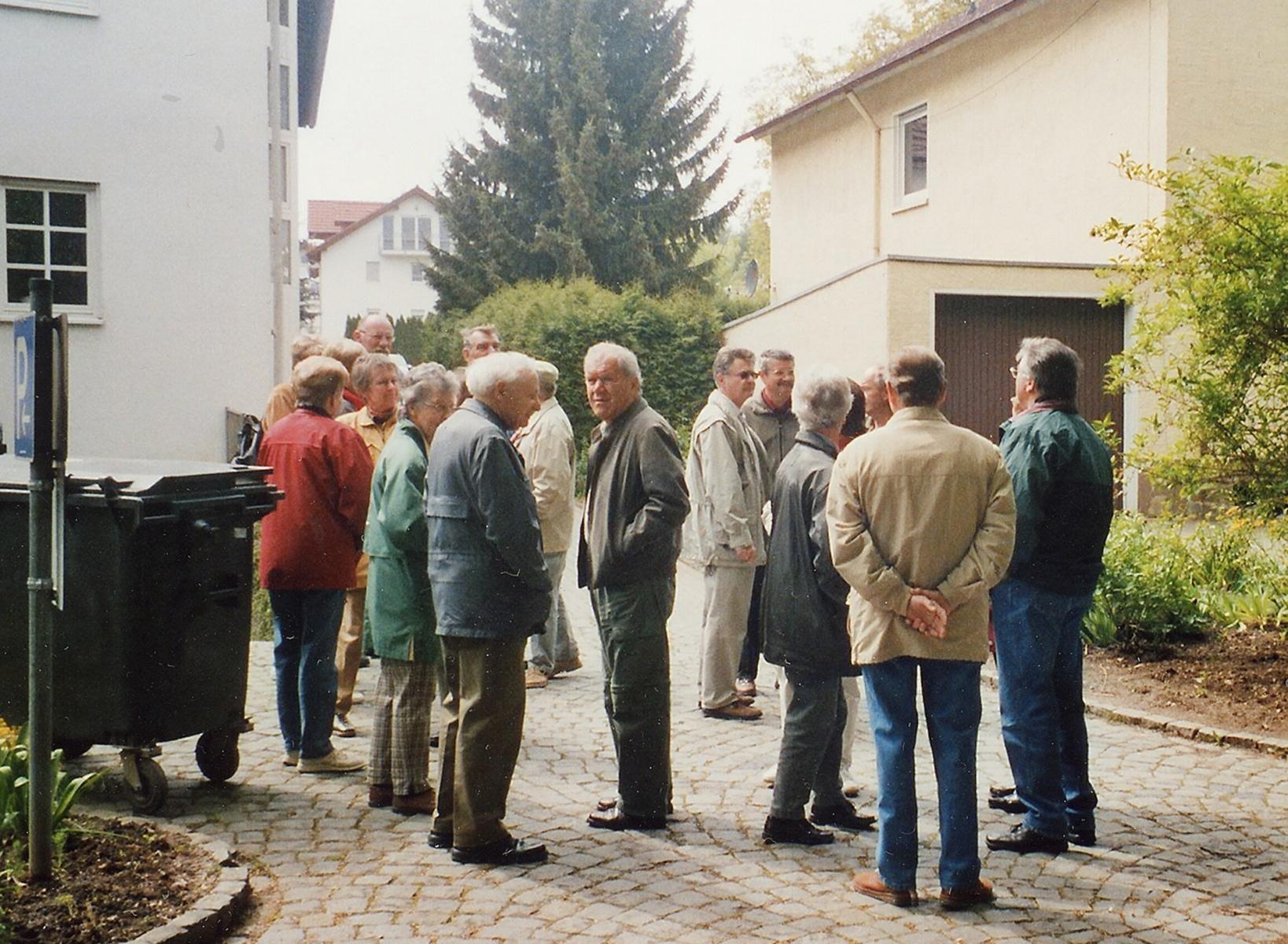 2004_05_12 Jahresausflug nach Meisenheim, Ortsbesichtigung