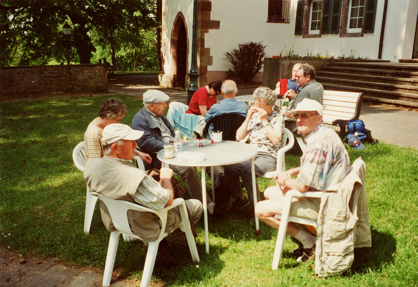 2004_09_01 Arzviller, Rucksackvesper