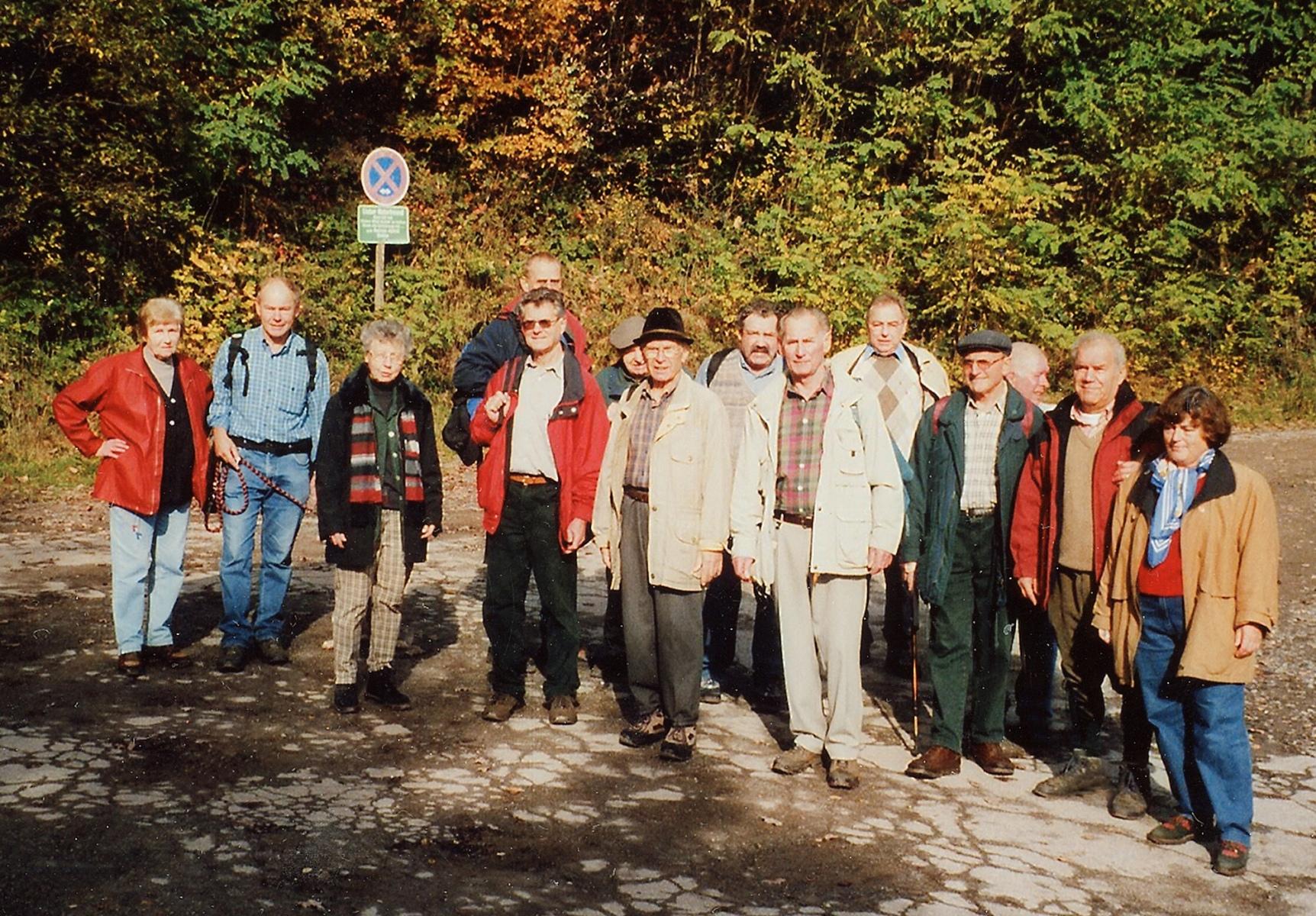 2004_11_03 Bad Wildbad, Herbstwanderung