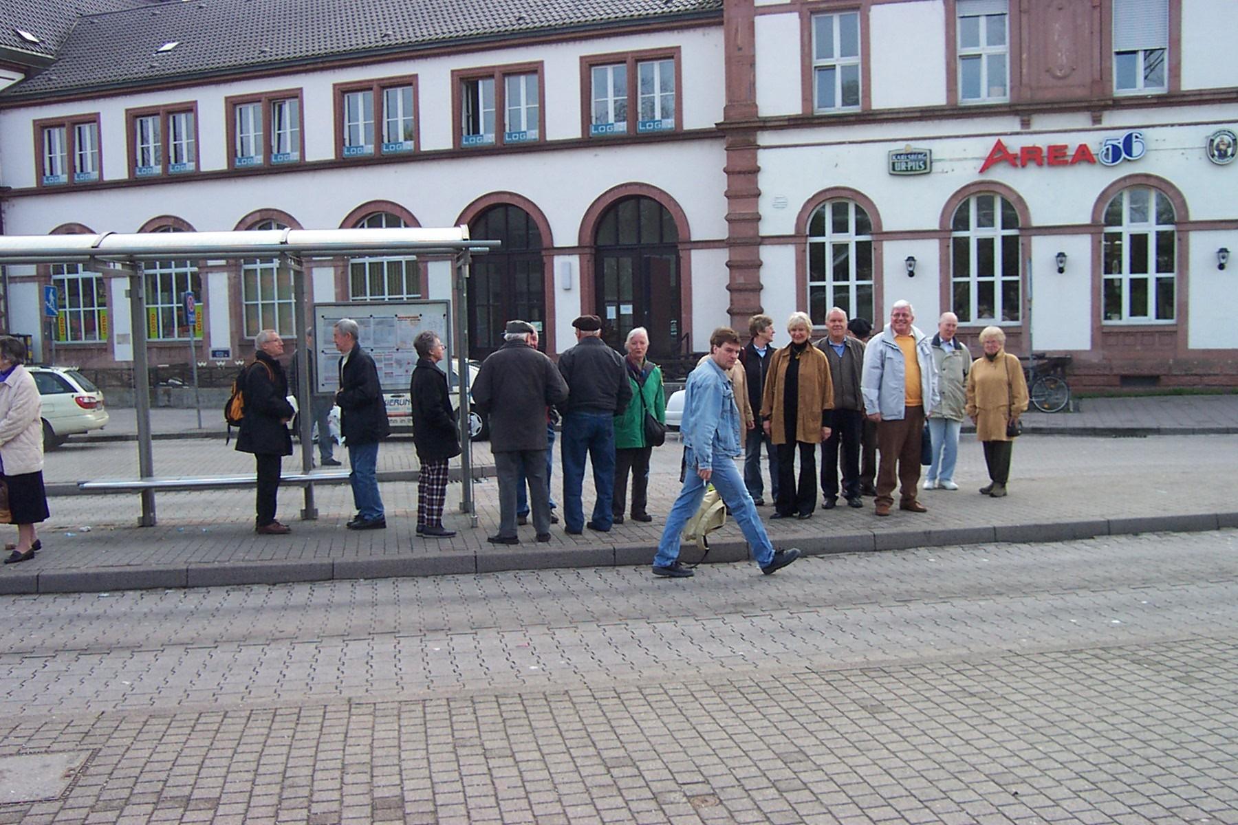 2005_04_06 Rastatt, Besuch der Residenz