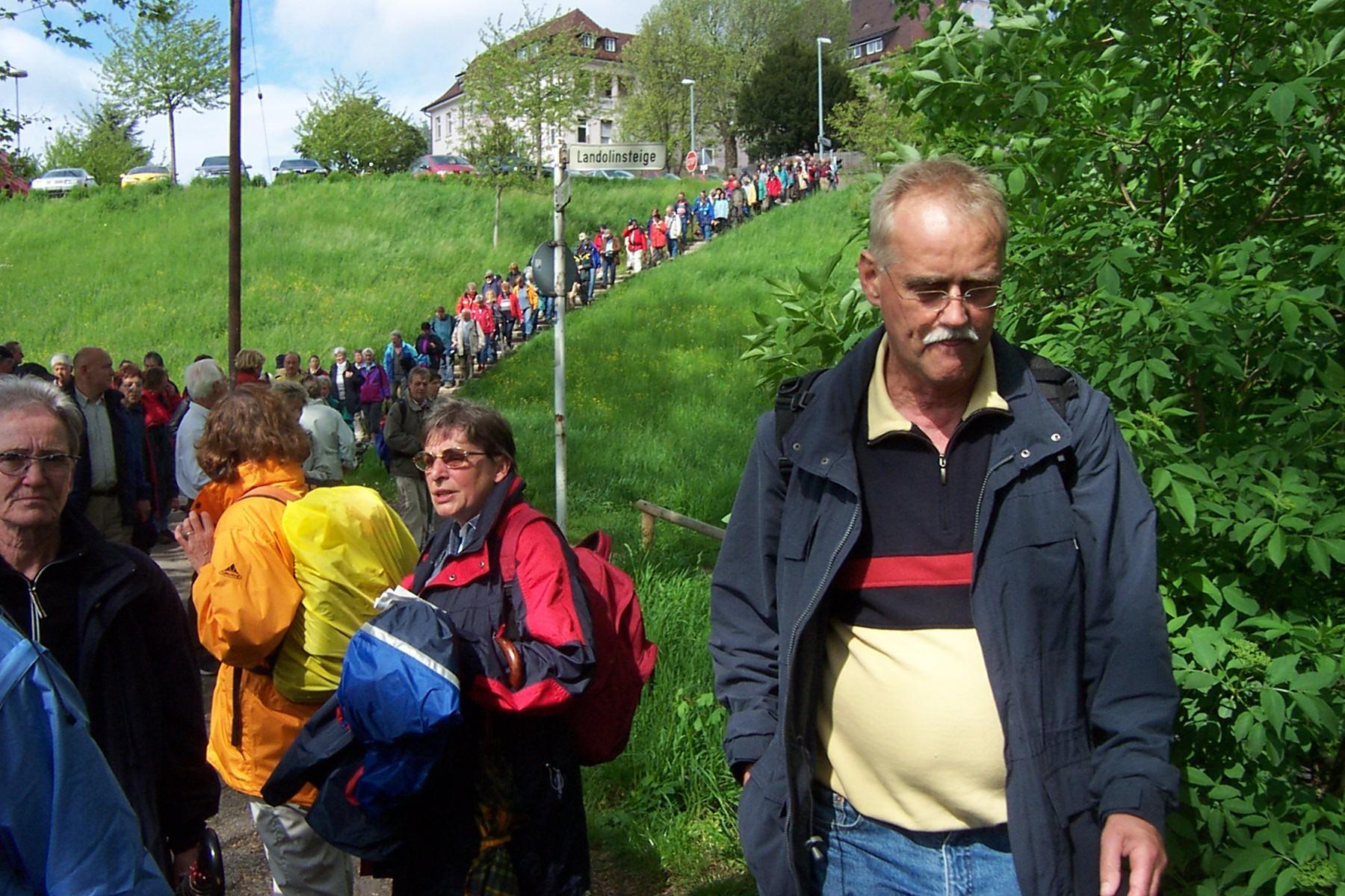 2005_05_06 Wanderung mit dem SWR4, Auf dem Jakobsweg