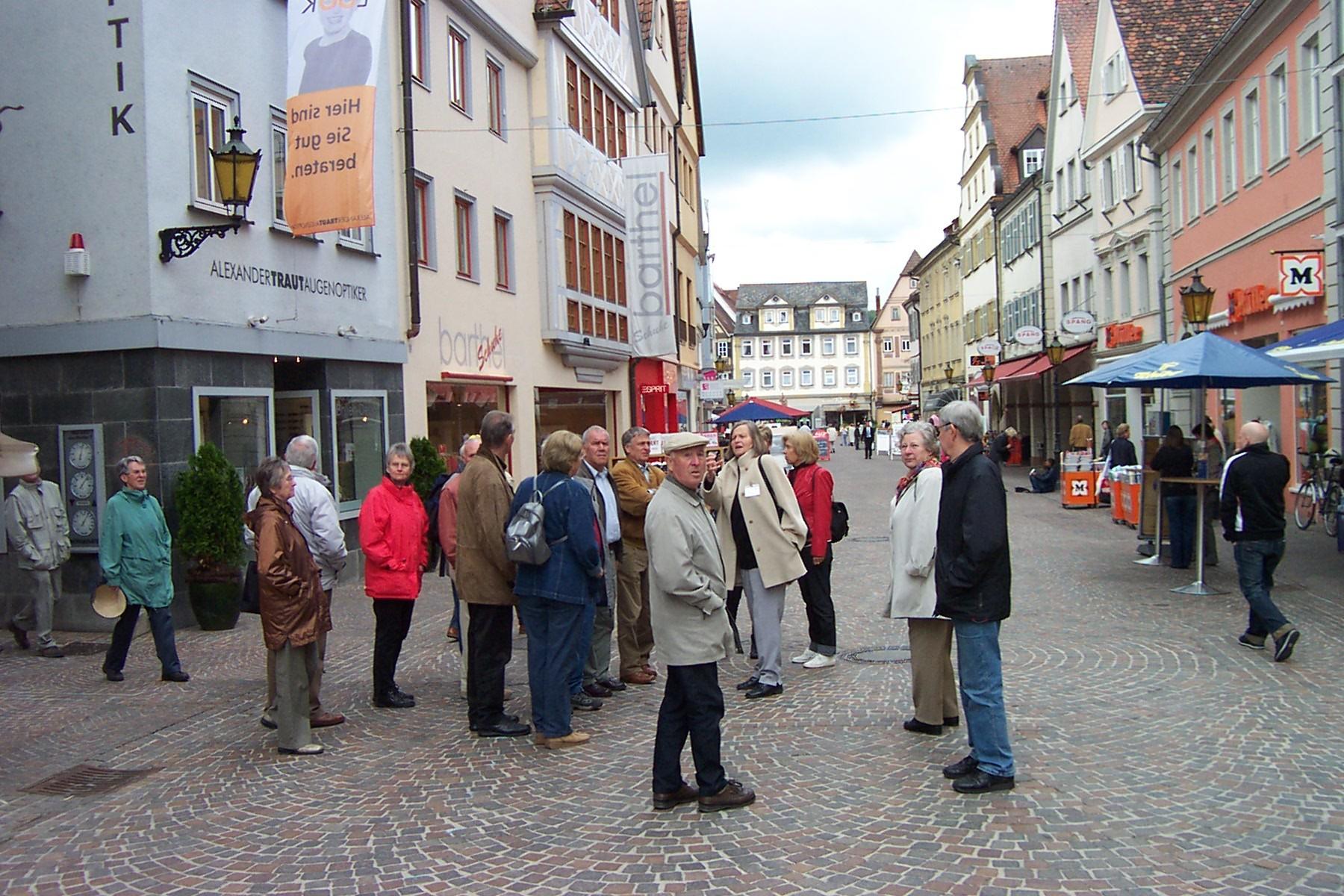 2005_05_11 Bad Mergentheim, Stadtführung