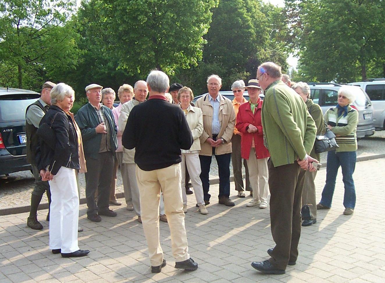 2006_05_10 Mannheim und Schwetzingen, Stadtführer: Karl Schäufele