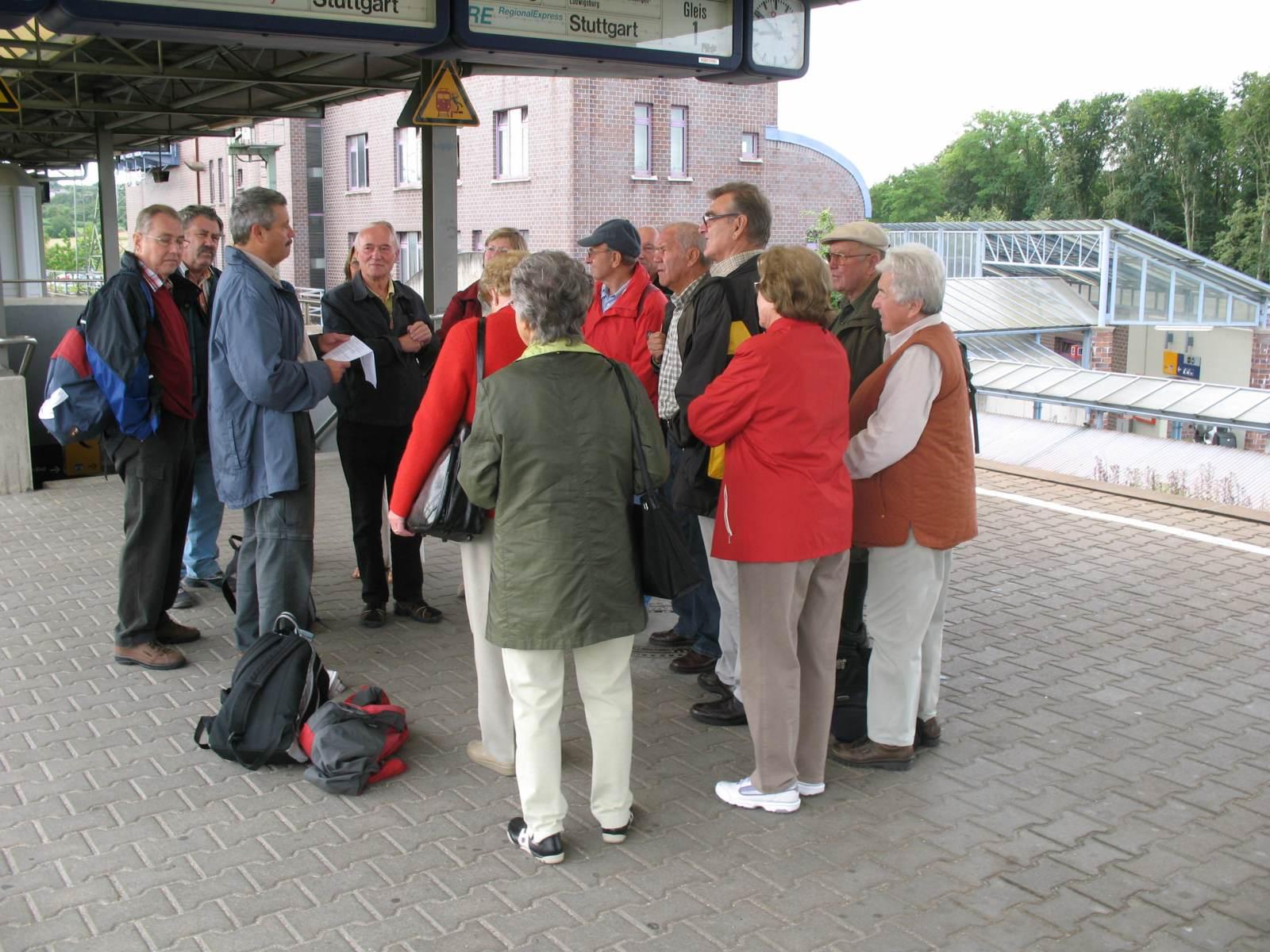 2007_07_11 Beuron, Bahnhof-Vaihingen