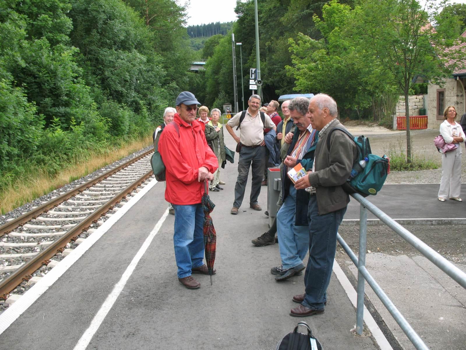 2007_07_11 Beuron, Bahnhof?