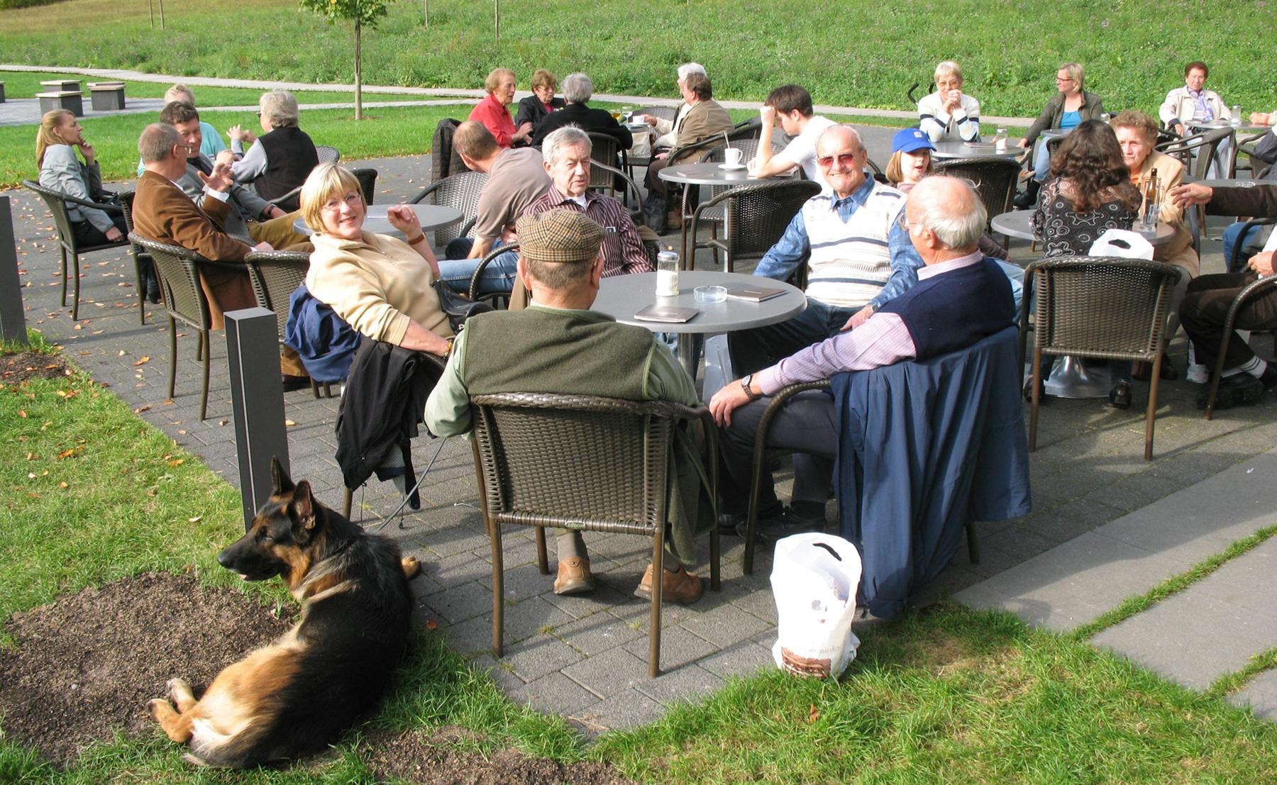 2008_10_08 Waldenbuch, Kaffeepause