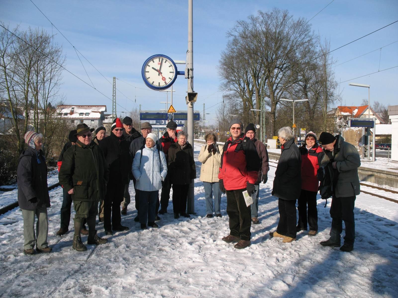 2009_02_18 Schnaidt, Winterwanderung im Remstal