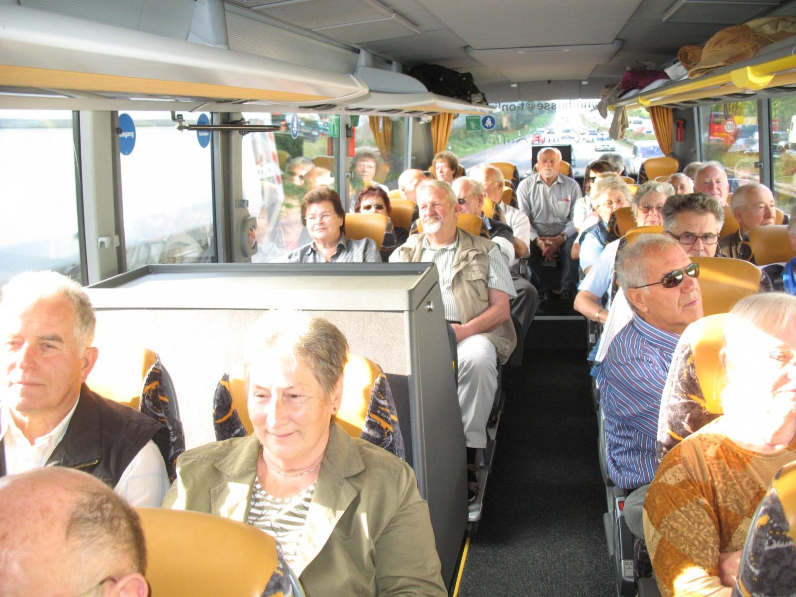 2011_09_14 Im Bus nach Weikersheim