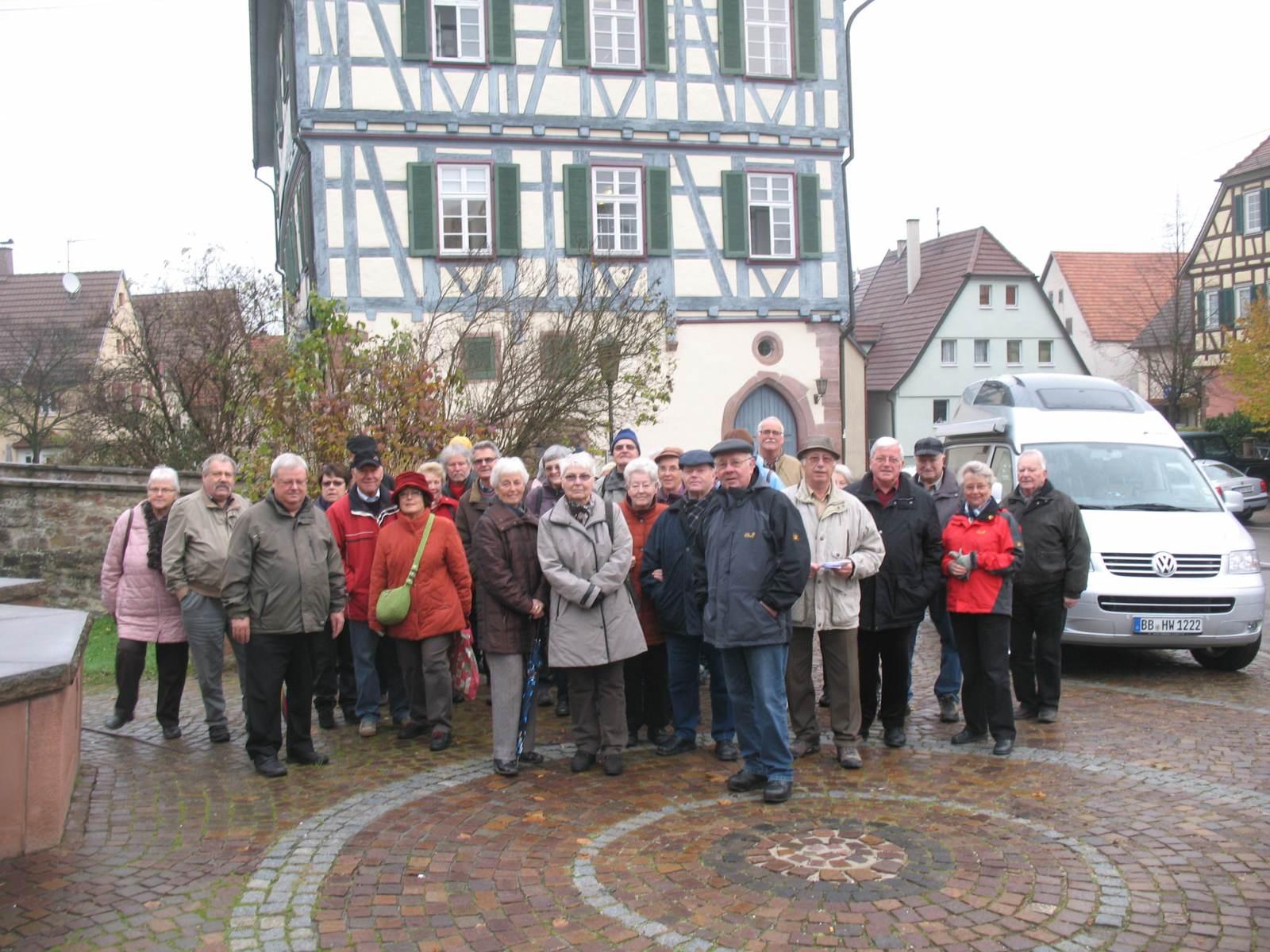 2013_11_13 Merklingen, Führung durch die Kirchenburg