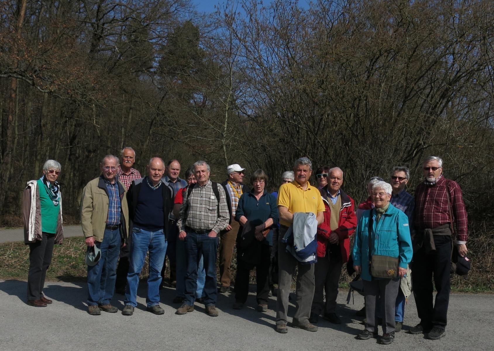 2015_03_18 Wanderung bei Mühlacker, Eppinger Linie