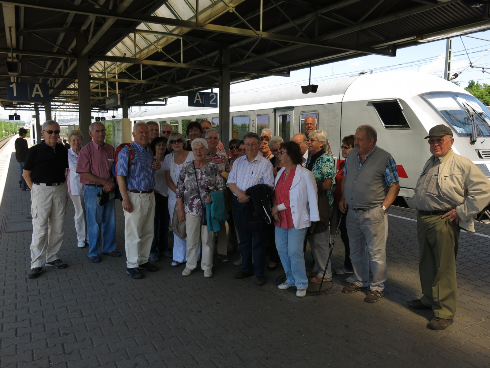 2015_05_13 am Bahnhof Vaihingen/Enz
