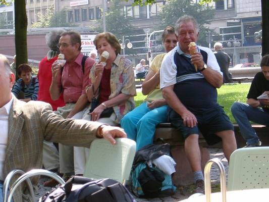 2002_07_31 Mannheim, Verschnaufpause