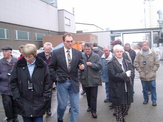 2003_01_15 Oberderdingen, Werksführung bei Fa.Blanco