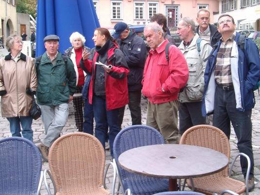 2003_10_08 Esslingen, Stadtführung