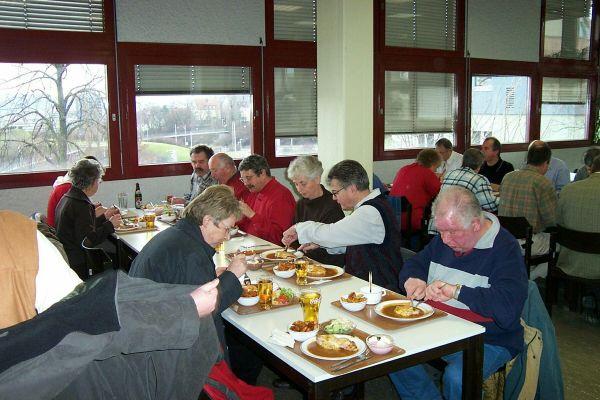 2005_01_12 Stuttgart, Bei der Polizei
