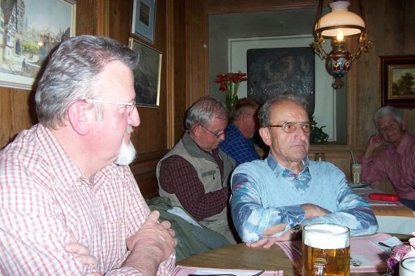 2005_05_06 Wanderung mit SWR4, Am Ziel in Esslingen