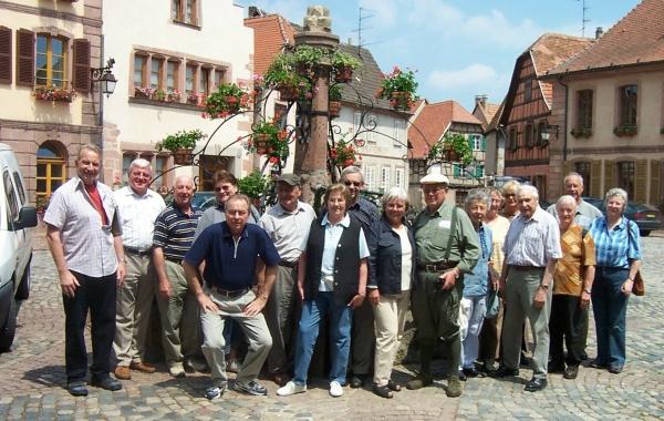 2005_06_15Jahresausflug ins Elsass,  in Kayserberg