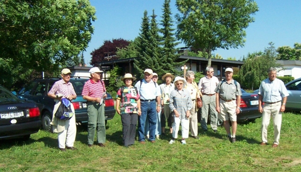 2005_07_13 Hildrizhausen, Wanderung