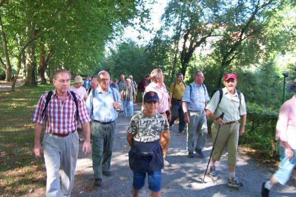 2005_09_07 Tübingen, Wanderung im Schönbuch