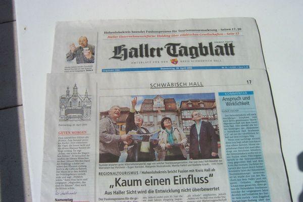 2006_04_19 Schwäbisch Hall, Stadtführung3