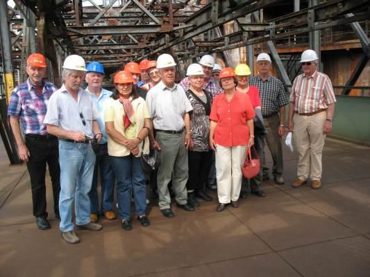 2011_06_07 Jahresausflug nach Metz, Führung in der Völklinger Hütte