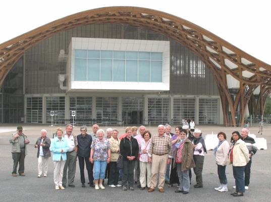 2011_06_08 Jahresausflug nach Metz, vor dem Centre Pompidou
