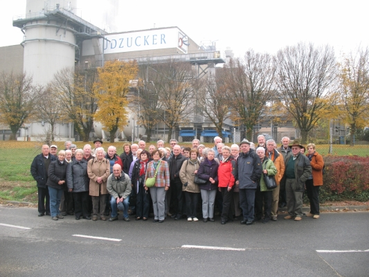 2011_11_09 Offenau, Betriebsbesichtigung bei Südzucker