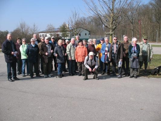2012_03_14 Wanderung rund um Hochdorf/Enz