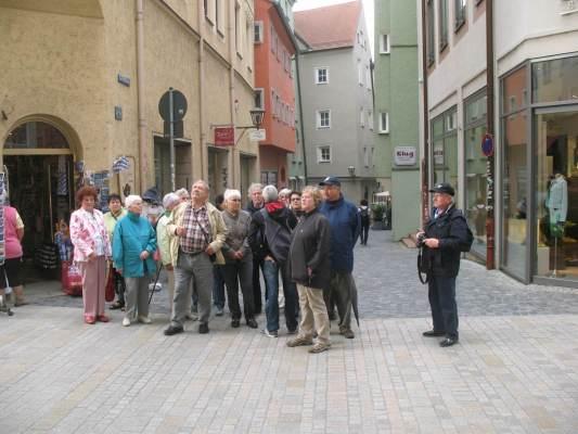 2013_06_11 Regensburg, Stadtführung