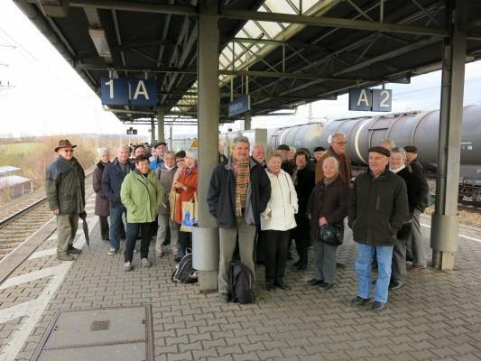 2014_02_12 Stuttgart, Am Bahnhof Vaihingen/Enz