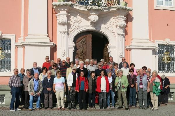 2015_09_09 Vor der Klosterkirche in Birnau