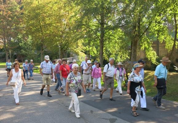 2016_09_14 Bad Wildbad, auf dem Weg zum Baumwipfelpfad