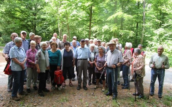 2018_05_08 Wiernsheim, Führung im Wiernsheimer Wald