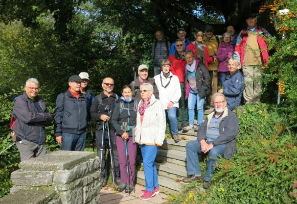 2019_10_09 Ottilienberg, Herbst-Wanderung, an der Leinburg